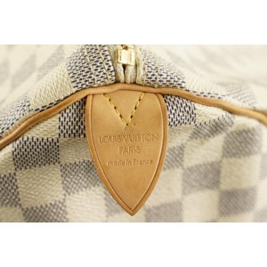Louis Vuitton Damier Azur Keepall 50 Duffle Bag 512lvs35