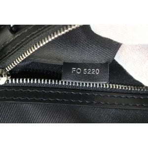 Louis Vuitton Black Distorted Damier Keepall Bandouliere 50 Duffle Bag 330lvs223