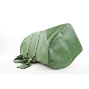 Louis Vuitton Green Epi Leather Borneo Keepall 55 Duffle Bag 232lvs211