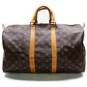 Louis Vuitton Monogram Keepall 45 Duffle Bag 862259