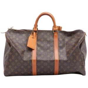 Louis Vuitton Monogram Keepall 50 Duffle Bag 862491