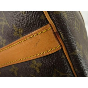 Louis Vuitton Monogram Keepall Bandouliere 45 Duffle Bag with Strap 862111