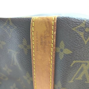 Louis Vuitton Monogram Keepall Bandouliere 45 Duffle Bag with Strap 862244