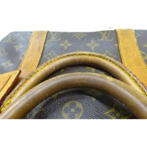 Louis Vuitton Monogram Keepall Bandouliere 50 Boston Duffle Bag GM  861906