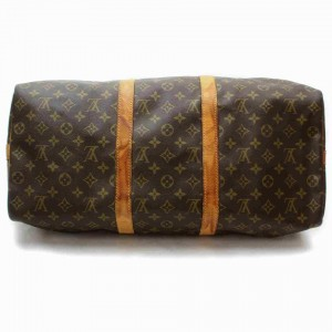 Louis Vuitton Monogram Keepall Bandouliere 50 Duffle Bag with Strap 868514