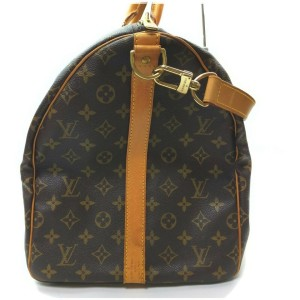 Louis Vuitton Monogram Keepall Bandouliere 50 Duffle Bag with Strap  862601