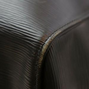 Louis Vuitton Black Epi Leather Noir Keepall 55 Duffle Bag GM 862257