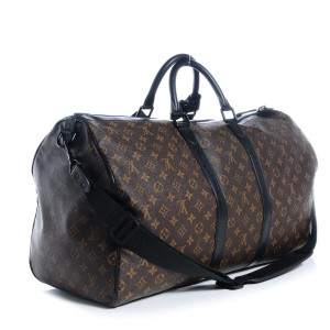 Louis Vuitton Waterproof Keepall Bandouliere 55 Duffle Bag