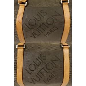 Louis Vuitton Duffle Khaki Terre Damier Geant Attaquant Boston 232363 Brown Canvas Weekend/Travel Bag