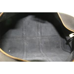 Louis Vuitton Black Epi Leather Noir Keepall 50 Duffle Bag 50lvs125