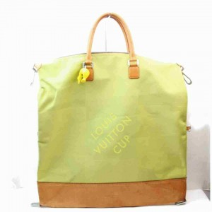 Louis Vuitton Limited Edition LV Cup Jaune Green Damier Geant Cube Duffle 860591