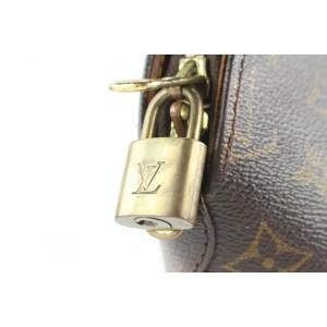 Louis Vuitton  Monogram Ellipse MM Bowler Bag Clam Seashell Octagon 551lvs310