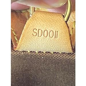 Louis Vuitton Ellipse Monogram Mm Octagon Seashell 2lva82 Brown Coated Canvas Satchel
