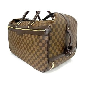 Louis Vuitton Convertible Damier Ebene Eole 50 Rolling Luggage Carry-on 240868