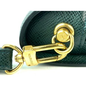 Louis Vuitton Epicea Taiga Orsa Leather Wristlet Baikal 12LVA910