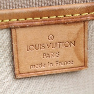 Louis Vuitton Excursion Monogram Sac 867976 Brown Coated Canvas Tote