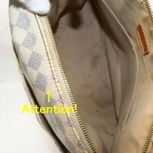 Louis Vuitton Damier Azur Figheri GM Tote Bag 858132