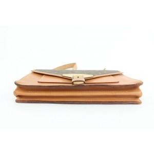 Louis Vuitton Monogram Sac Biface Crossbody Flap Bag  862636