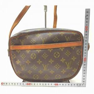 Louis Vuitton Monogam Jeunfille GM Crossbody Flap Bag  861487