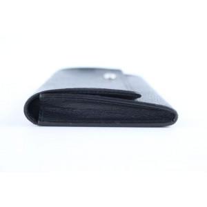 Louis Vuitton Damier Graphite Long Flap Wallet 225063