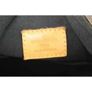 Louis Vuitton Black Monogram Noir Gaia Hobo Bag Lock Artsy 259lvs56