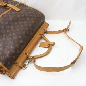 Louis Vuitton 872068 Monogram Sac Kleber Chasse Garment Bag with Strap Bandouliere