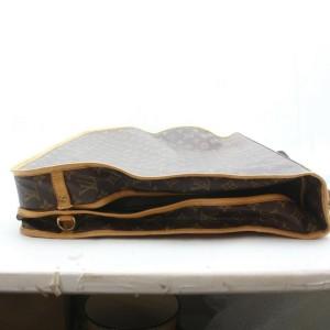 Louis Vuitton Portable Cabin Monogram Garment Bag with Strap 872888