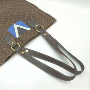 Louis Vuitton Brown Mini Lin Gaston V Tangier Tote 861203