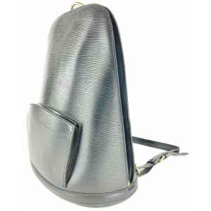 Louis Vuitton Black Epi Leather Noir Gobelins Backpack 12L1015