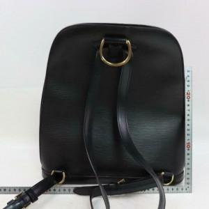 Louis Vuitton Black Epi Leather Noir Gobelins Backpack 859697