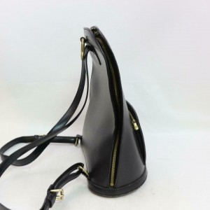 Louis Vuitton Black Epi Leather Noir Gobelins Backpack 859697