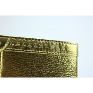 Louis Vuitton Gold Suhali Leather Partnenaire Agenda 215811