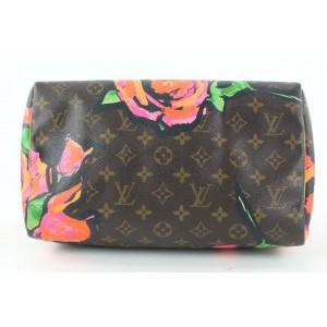 Louis Vuitton Stephen Sprouse Monogram Graffiti Roses Speedy 30 Bag Flower 34LV713