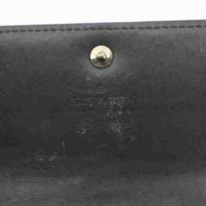 Louis Vuitton Monogram Mat Long Wallet Porte Monnaie Credit 872923