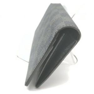 Louis Vuitton Damier Graphite Portefeuille Brazza Long Wallet 862085