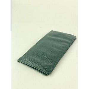 Louis Vuitton Green Taiga Leather Brazza Long Wallet 16LVL1125