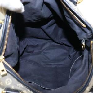 Louis Vuitton Hobo 872034 Mini Lin Elegy 2way with Strap Navy Blue Monogram Idylle Shoulder Bag
