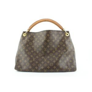 Louis Vuitton Monogram Artsy MM Braided Hobo Bag 725lvs324
