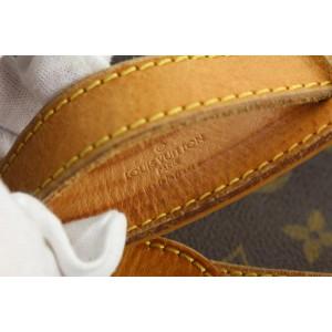 Louis Vuitton XL Monogram Sac Ballade Promenade Zip Hobo Bag 79lvs426