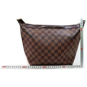 Louis Vuitton Damier Ebene Illovo MM Zip Hobo Bag 862199
