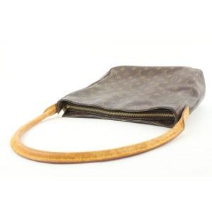 Louis Vuitton Monogram Looping GM Zip Hobo Bag 193lvs29