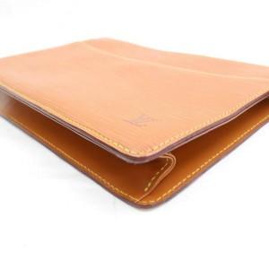 Louis Vuitton Brown Epi Leather Homme Zip Pouch 867435