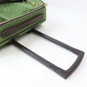 Louis Vuitton Khaki Monogram Mini Lin Annette Horizon Pegase Rolling Luggage 871668