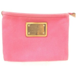 Louis Vuitton Hot Pink Antigua Pochette Platt PM Pochette Accessories 862415