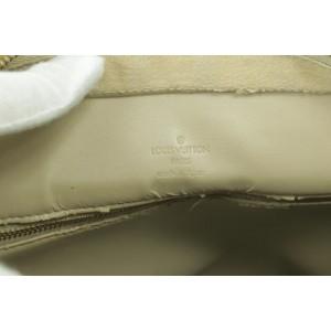 Louis Vuitton Houston Zip Monogram Vernis Tote Yellow-Beige 12LJ1019