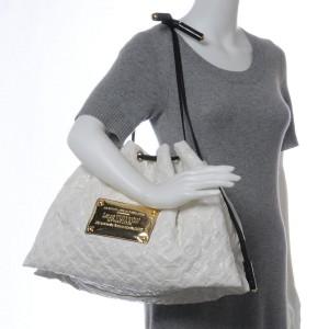 Louis Vuitton Cream White Vinyl Monogram Squishy Inventeur Hobo Bag 862406