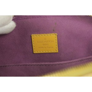 Louis Vuitton Yellow Epi Jasmin 13LK1220