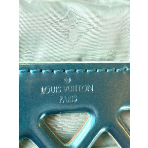 Louis Vuitton Limited Edition Reef Patent Leather Jelly PM 4lv61