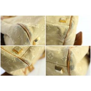 Louis Vuitton Josephine Monogram Mini Lin 6lz0626 Beige Canvas Shoulder Bag