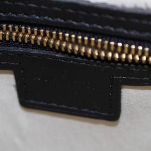 Louis Vuitton Josephine Navy Monogram Mini Lin 868391 Blue Canvas Satchel